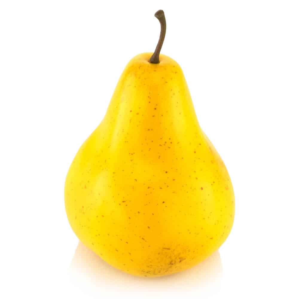 yellow bartlett
